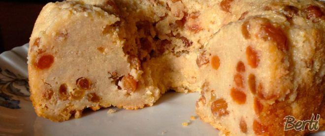 Pudim de pão com passas - gluten free!